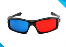 pet red blue 3d glasses
