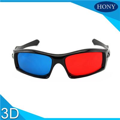 pet red blue 3d glasses