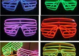 red el wire shutter glasses