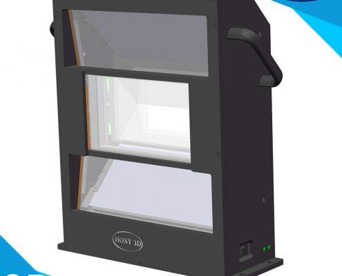 hight light efficiency passive 3d system