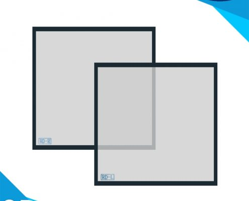 polarized filter double projector use