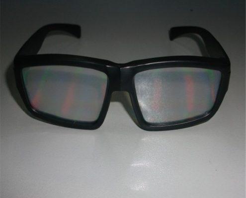 night club adult rainbow glasses