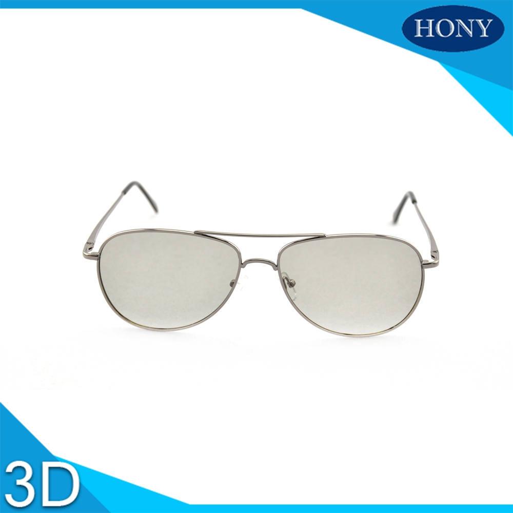 aviator metal frame 3d glasses