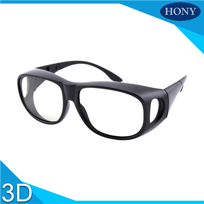 big frame 3d glasses