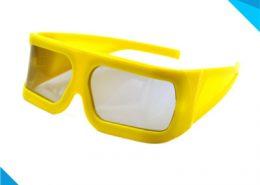 big yellow frame 3d glasses