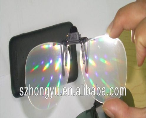 clip on rainbow glasses