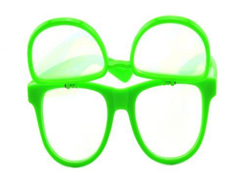 flip up double diffraction glasses