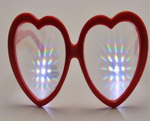 plastic love fireworks glasses