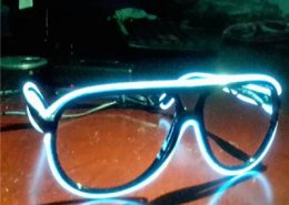 party flash el wire diffraction glasses