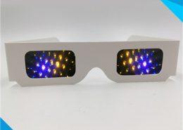 cardboard 13500 lines rainbow glasses
