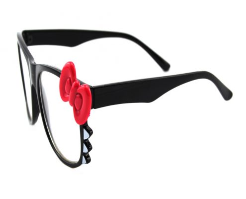christmas kitty diffraction glasses