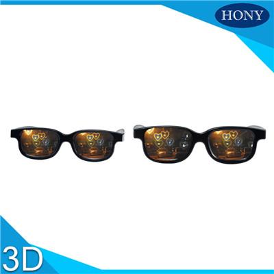 conbination heart diffraction glasses