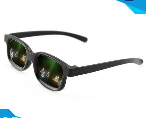 3d firework glasses plastic