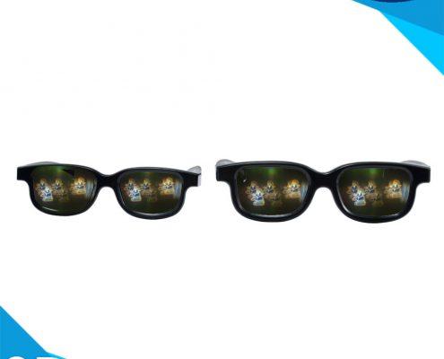 santa laser glasses